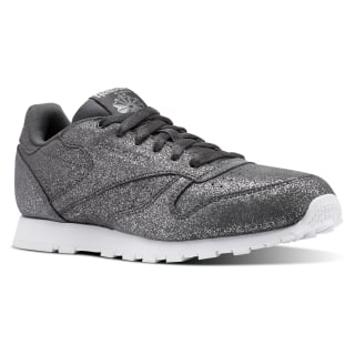 Classic Leather Ms-Pewter/Ash Grey/White CN5587