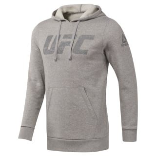 UFC Pullover Hoodie Medium Grey Heather DH6135