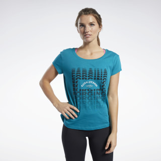 Reebok CrossFit® FEF Easy Tee Seaport Teal FK4399