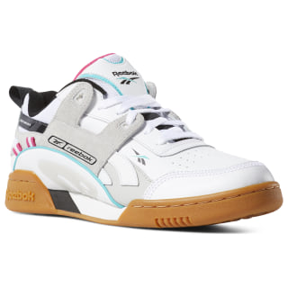 Workout Plus ATI 90s White / Teal / Black / Grey DV5494