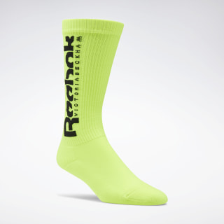VB Nylon Socks Solar Yellow FQ7218
