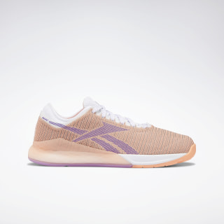 Reebok Nano 9 Women's Training Shoes White / Sunglow / Grape Punch DV6367