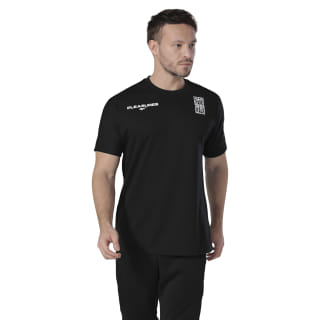 Reebok x PLEASURES Tee Black FH9296