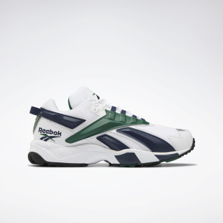 Кроссовки INTV 96 White/White / Collegiate Navy / Dark Green EH3103