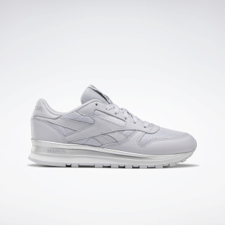 Classic Leather Sterling Grey / Silver Metallic / White EG6323