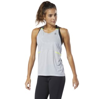 Boston Track Club Singlet Cold Grey 2 DP6636