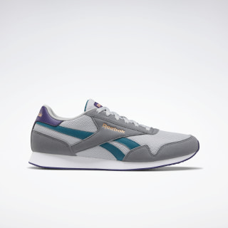 Reebok Royal Classic Jogger 3.0 Shoes Pure Grey 3 / Pure Grey 5 / Heritage Teal EF7803
