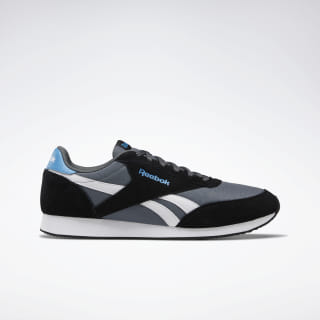 Reebok Royal Classic Jogger 2.0 Shoes True Grey / Black / Cyan / White DV6562