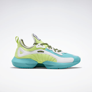 SOLE FURY 00 CHROMAT Solid Teal / Neon Lime / White EG9733