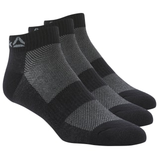 Носки Active Foundation Ankle, 3 пары black/black/black DU2983