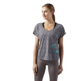 Camiseta Running Essentials Dark Grey Heather CD5707