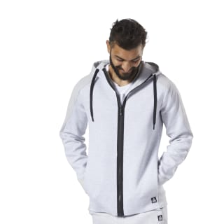 Training Supply Hoodie Light Grey Heather EC0737