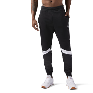 Fleece Joggingbroek Black CD7464