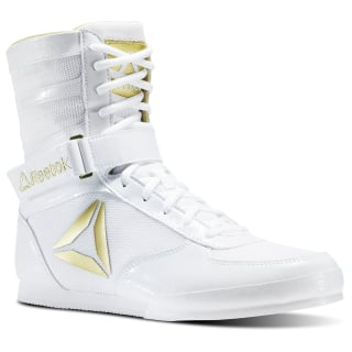 Reebok Boxing Boots White/Gold CN5080