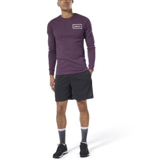 Reebok CrossFit® Speedwick Shorts Black / Gravel DU5070