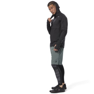 Sweat à capuche ajusté Thermowarm Black CY4910