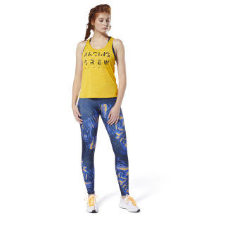 Running ACTIVCHILL Tank Top Semi Solar Gold DW5233