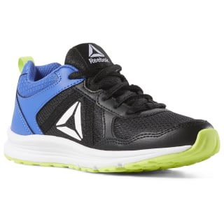 Reebok Almotio 4.0 - Pre-School Black / Neon Lime / Crushed Cobalt / White CN8581