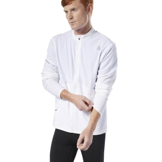 Running Hero Jacket White DU4295