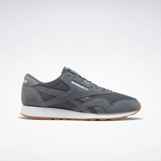 Classic Nylon Shoes Cold Grey 6 / Cold Grey 4 / White EF3278