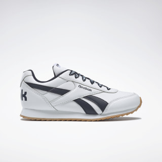 Reebok Royal Classic Jogger 2.0 Shoes White / Collegiate Navy DV9075
