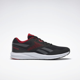 Reebok Runner 4.0 Shoes Black / True Grey 7 / Excellent Red EF7312
