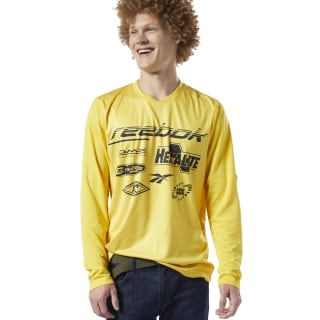 Classics Advance Tee Toxic Yellow EB3642
