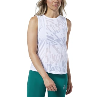 Reebok CrossFit® Burnout Tank Top White EI9009