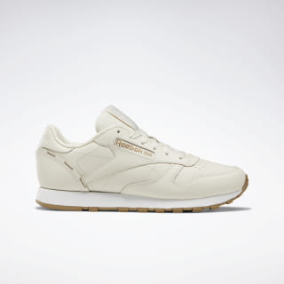 Tenis Classic Leather  ALABASTER/THATCH/WHT DV7103