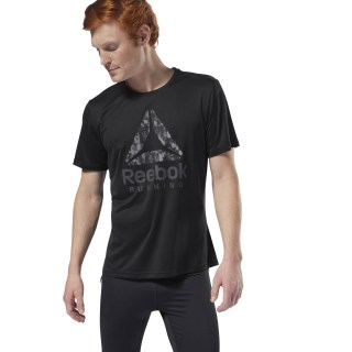 Camiseta M Run Graphic black D92935