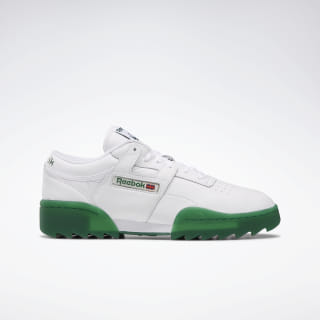 Workout Ripple OG Shoes White / Dark Green DV6958