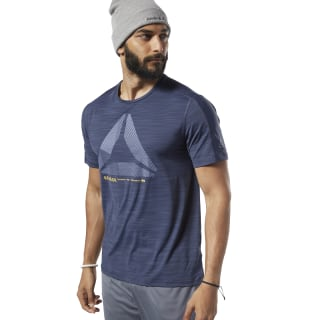 One Series Training ACTIVCHILL Move Tee Heritage Navy EC1016