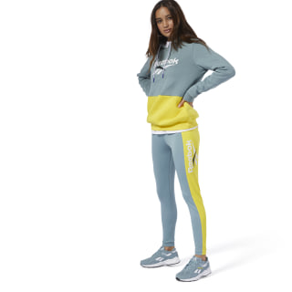 Classics Vector Leggings Blue / Yellow DX3803