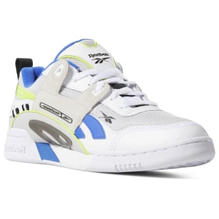 Workout Plus ATI 90s White/Black/Neon Lime DV6283