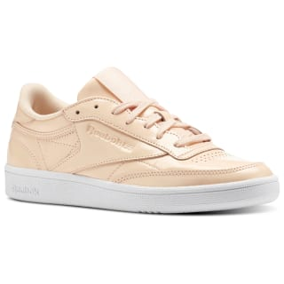 Club C 85 Patent Pink/Desert Dust/White BS9778