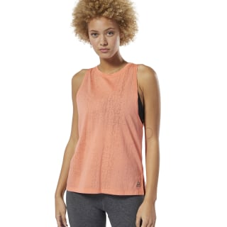 Burnout Tank Top Stellar Pink DP5626