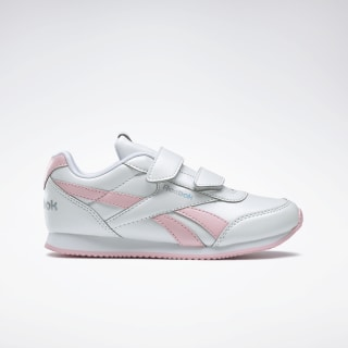 Reebok Royal Classic Jogger 2.0 White / Pink Glow / Iridescent DV9015