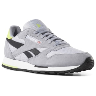 Classic Leather Coldy Gry/Shadow/White/Lime DV3837