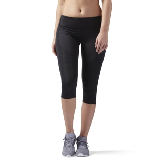 ACTIVCHILL Running Capris Black CD5457