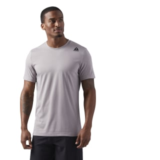 T-shirt LES MILLS BODYCOMBAT Powder Grey CD6175