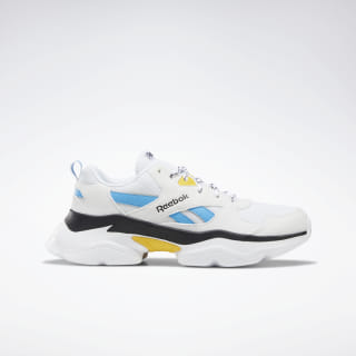 Reebok Royal Bridge 3.0 Shoes White / Yellow / Cyan / Black DV8844