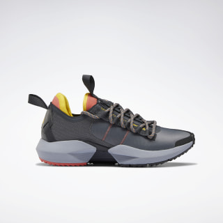 Sole Fury Trail Shoes Cold Grey 6 / Rosette / Toxic Yellow DV9418