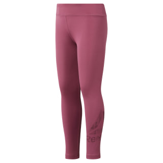 Legging basique Reebok Adventure - Fille Twisted Berry DH4289