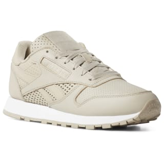 Кроссовки Classic Leather Beige/FW-ALLOY/TREU GREY7R/NEON LIME/WHITE CN8543