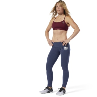 Legginsy Reebok CrossFit® USA Tights Collegiate Navy Mel DT9452