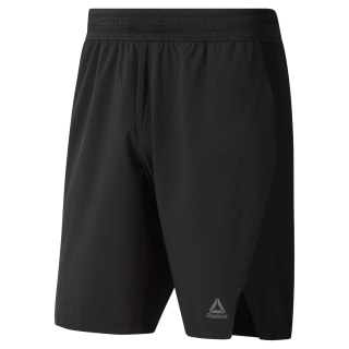 Short Training Knit-Woven Black DU5253