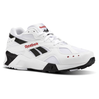 Tenis AZTREK BW-WHITE/BLACK/EXCELLENT RED CN7187