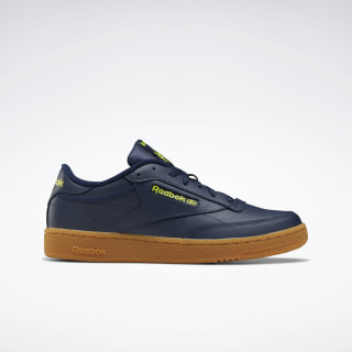 Club C 85 Shoes Collegiate Navy / Hero Yellow / Reebok Rubber Gum-06 EF3246