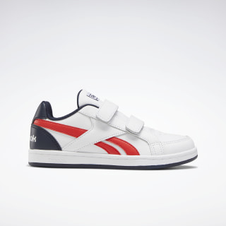 Reebok Royal Prime Shoes White / Radiant Red / Collegiate Navy EH1007