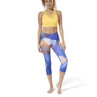 Legging 3/4 Yoga Lux Bold Crushed Cobalt DU4479